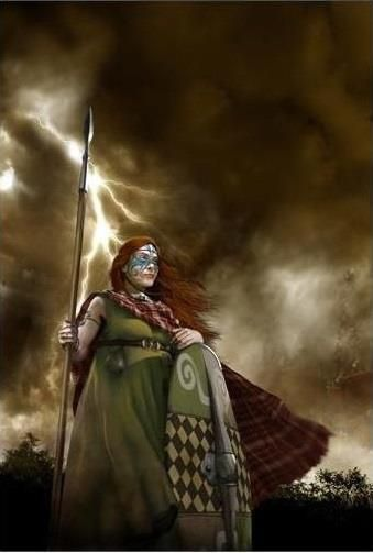 Boudicca Queen of the Iceni Tribe ~ by Luca Tarlazzi