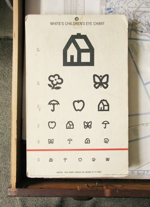 children's eye chart