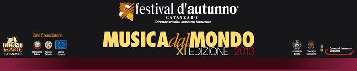 Festival d' Autunno - Direttore Artistico Antonietta Santacroce