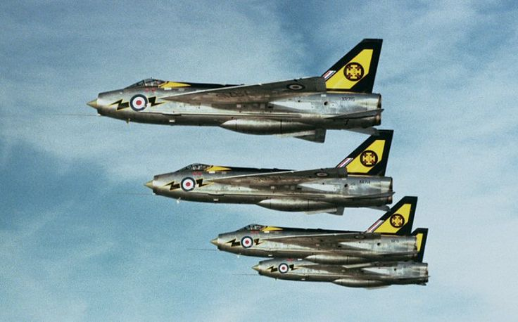 """Lightning F3 111sqn Royal Air Force """"The Tremblers"""""""