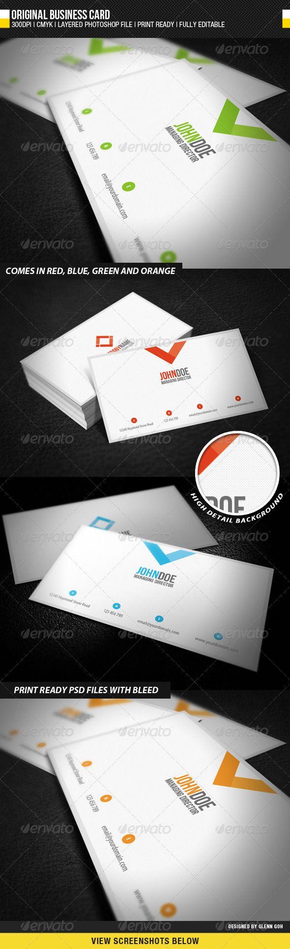 33 best Business Cards images on Pinterest | Business card design ...