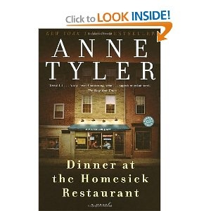 Dinner at the Homesick Restaurant, by Anne Tyler-A divorced mother of three children who can never quite get it together.