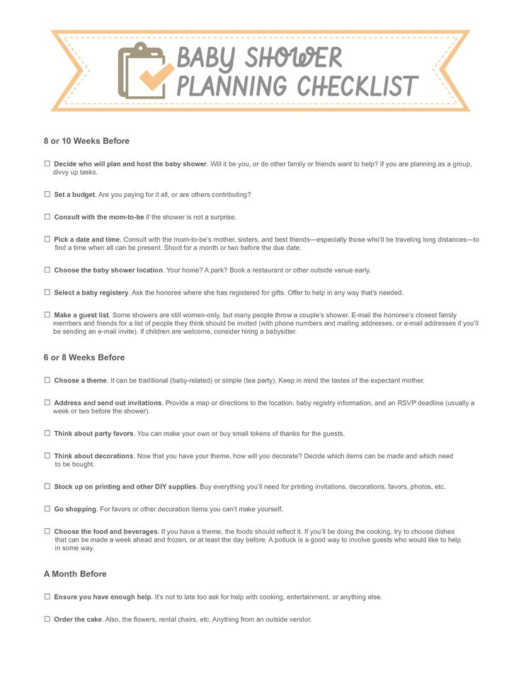 for a baby shower baby shower planning checklist baby shower