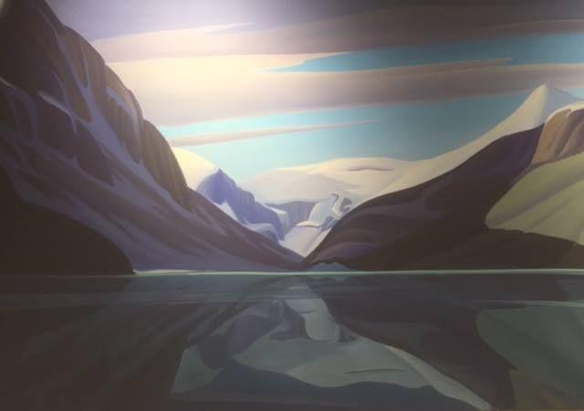 Ken Harrison - Beautiful Lake Louise IV 30 x 48 Oil on canvas