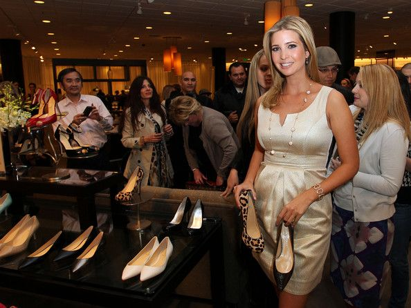 Ivanka Trump Launches Her Spring 2011 Lifestyle Collection Of Footwear.