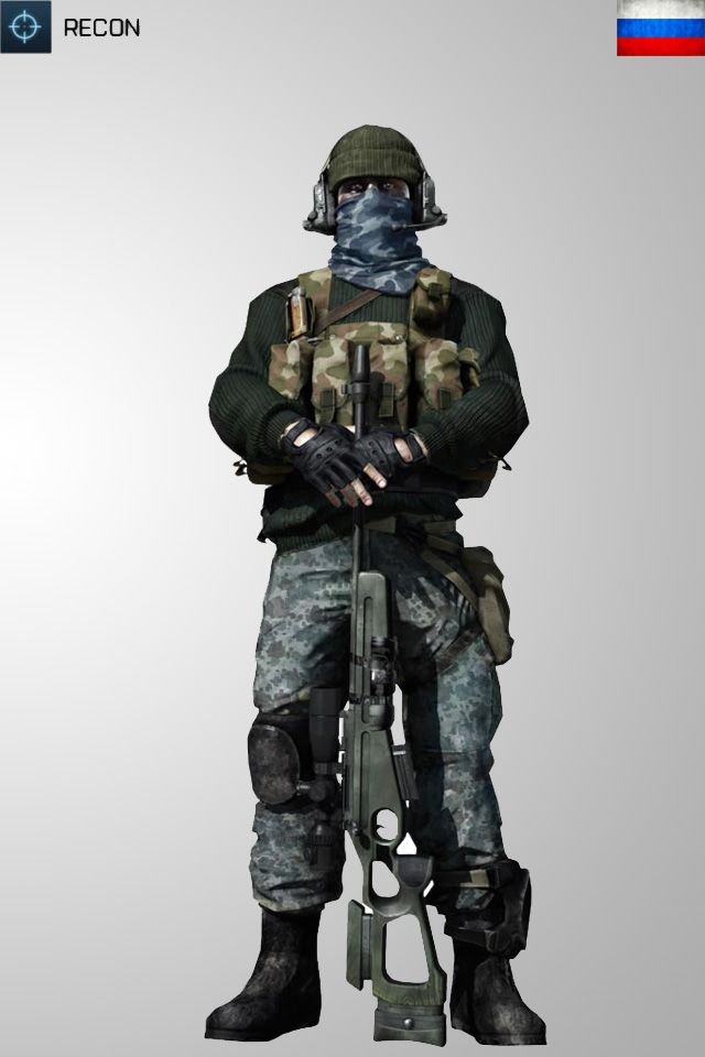 Battlefield 3 Recon RUS Soldier Iphone Wallpaper by ~Kikkah070 on deviantART