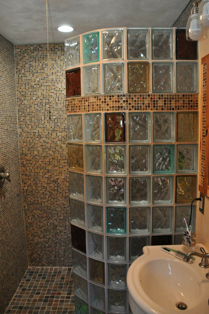 Best 25 Glass Block Shower Ideas On Pinterest Bathroom