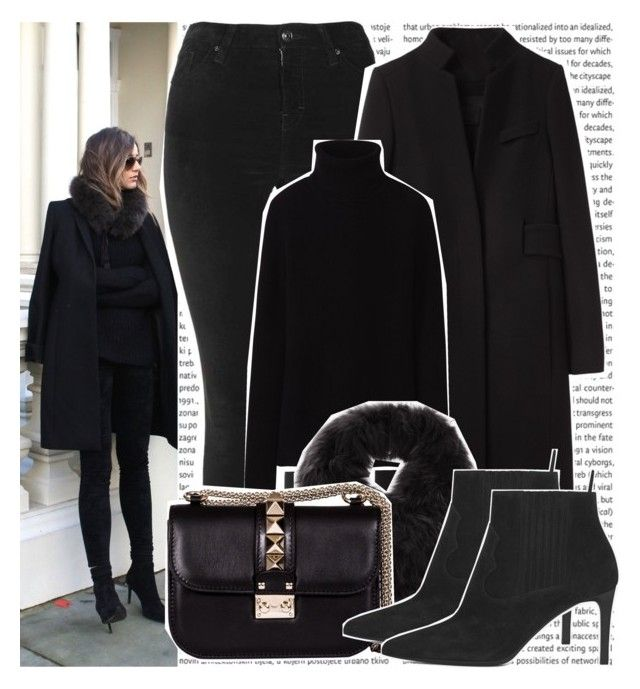 """""""#1438 Instagramer's: Eleanor Calder"""" by valucarrots ❤ liked on Polyvore featuring Topshop, Alexander Wang, Uniqlo, Max Studio, Valentino and Yves Saint Laurent"""