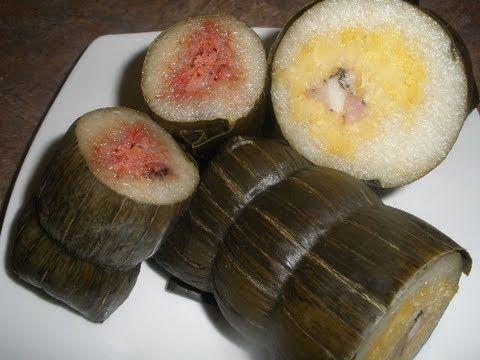 Cambodian Food Noum Omsom Chrouk and Omsom Chek