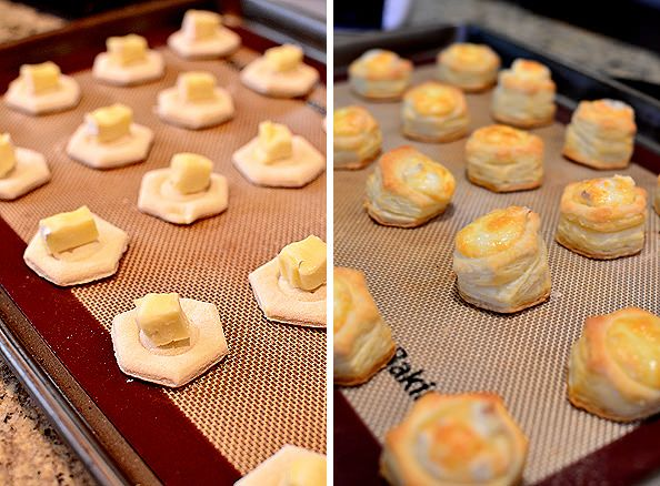 Baked Brie & Puff Pastry Bites.. Omg, these look delicious!!