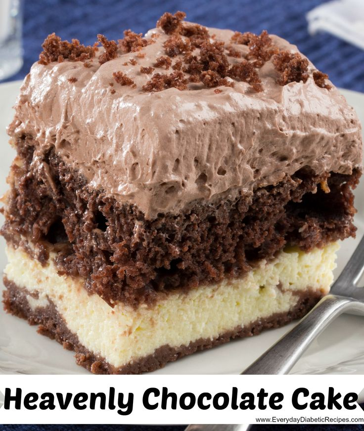 Heavenly Chocolate Cake - Oh, you're going to want to take a bite of ...