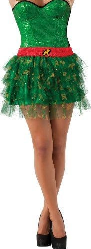 Secret Wishes  DC Comics Justice League Superhero Style Adult Skirt with Sequins Robin, Red, One Size Rubie's Costume Co,http://www.amazon.com/dp/B00DIV62S2/ref=cm_sw_r_pi_dp_V4potb1TGGRPPHZY