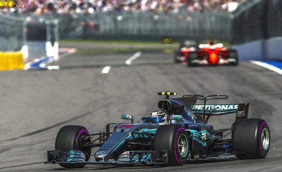 Bottas le gana el duelo a Vettel y logra en Rusia la primera victoria de su carrera