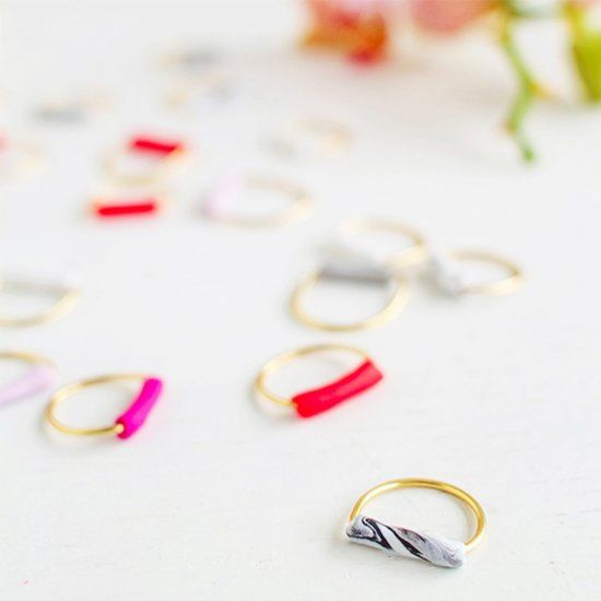 You'll want to make ALL the rings after seeing how easy this DIY is!