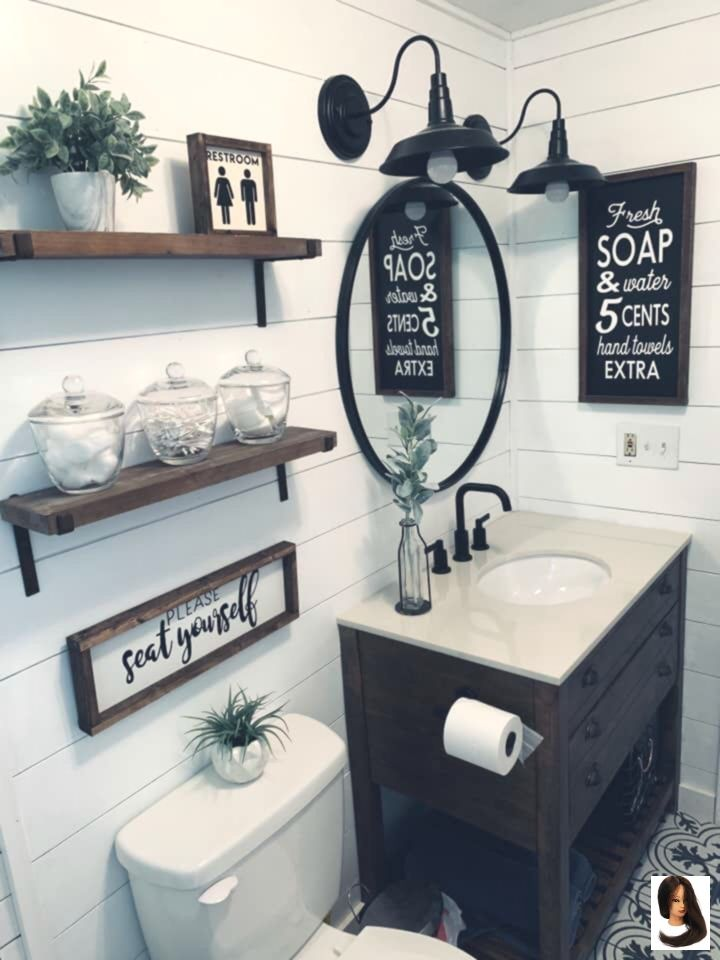 Bath Farmhouse Genel Half Bathroom Decor Farmhouse Half Bath Farmhouse Genel Farm Bathroom Decor Farmhouse Bathroom Decor Small Bathroom Decor