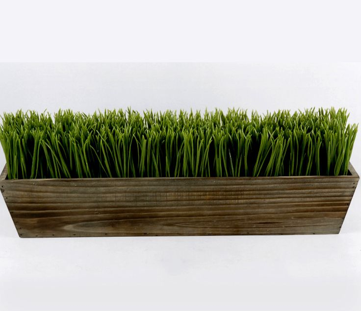 Must make!! Make sure the wood color matches the flower planters that will also be dispersed