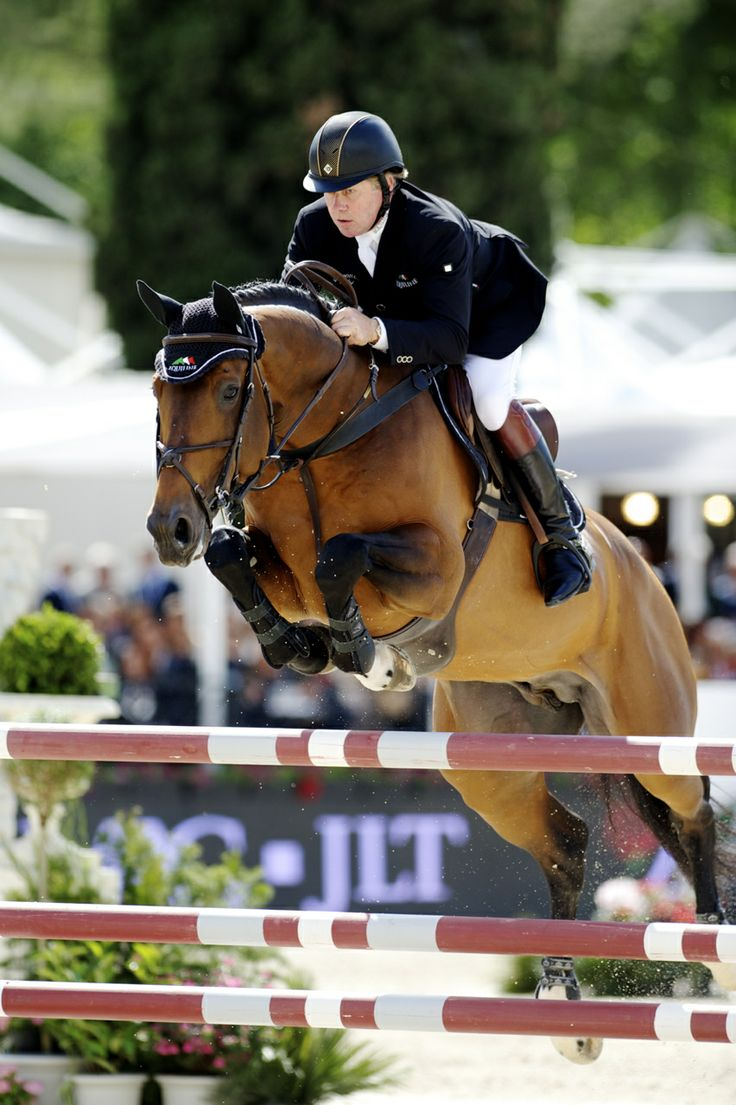 Nick Skelton & Big Star win the Piazza di Siena Grand Prix of Rome - Noelle Floyd
