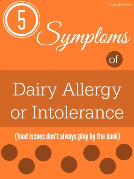 Dairy allergy symptoms can manifest themselves in a myriad of ways, some expected, some surprising. Here were my top 5 dairy allergy symptoms.