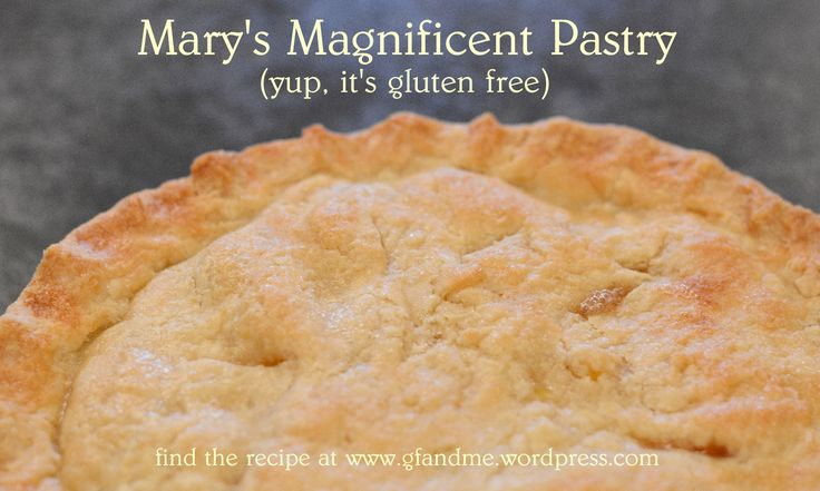 mary's magnificent pastry - just in time for pie season!