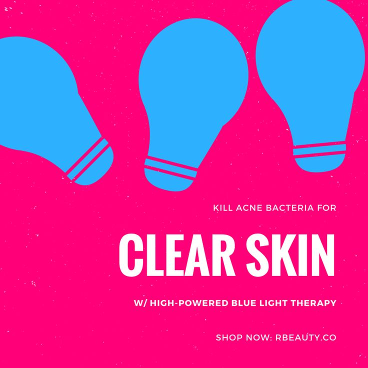Are you tired of buying topical acne products that never seem to get the job done? Blue light therapy is highly effective at killing acne bacteria living on facial skin. Get your clearest skin ever w/ the R ❤︎ BEAUTY LIGHT: High-Powered Light Therapy Mask, the most powerful at-home light therapy mask available. Find out more at: www.RBEAUTY.co!