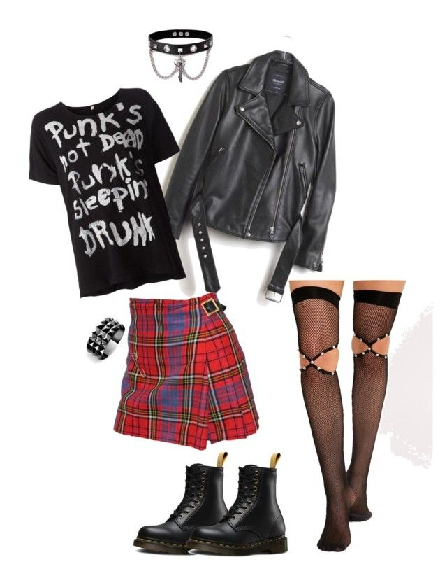 Rebellious Style Personality by kristi-gooden on Polyvore featuring Madewell, Vivienne Westwood, Dr. Martens, Trend Cool and Waterford