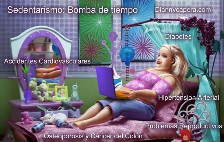 Hasta Barbie entro en su confort!!! .....El sobrepeso y la obesidad se definen como una acumulación anormal o excesiva de grasa que puede ser perjudicial para la salud. La escasa productividad y el gasto sanitario de la obesidad y el sobrepeso crecen escalofríantemente. Tu tomas la desicion, escoges el momento  invierte en tu #SALUD y haz #DEPORTE.