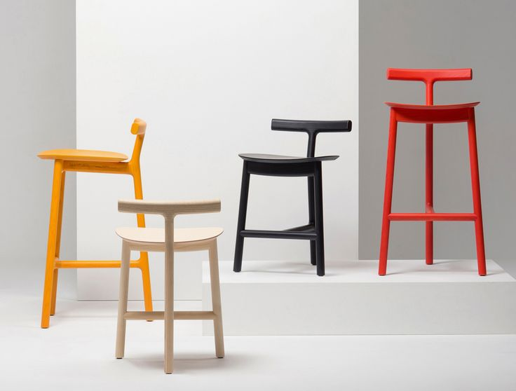 Radice is a three-legged wooden stool the result of Industrial Facilityu0027s second collaboration & 60 best Stools images on Pinterest | Chairs Stools and Chair design islam-shia.org