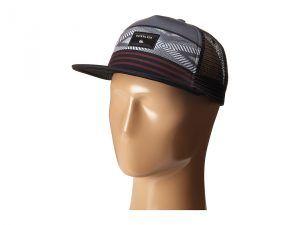 Quiksilver Quad Block Hat (Black) Caps