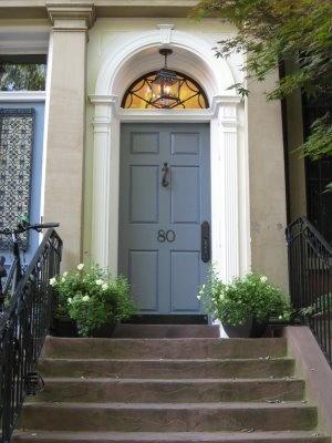 17 best images about planter door color on pinterest for Slate blue front door