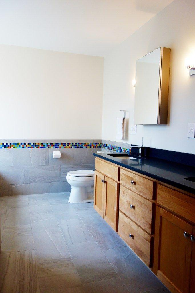 atomic ranch bathroom susan jablons glass mosaic tile design atomic ranch in a master