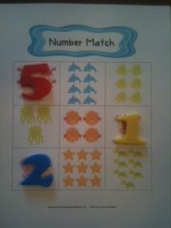 Keen On Kindergarten: Number Learning Fun