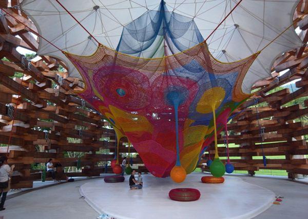 Восхитительный интерьер игровой комнаты для малышей