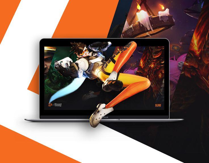 다음 @Behance 프로젝트 확인: \u201cBlizzard Technology\u201d https://www.behance.net/gallery/49983179/Blizzard-Technology