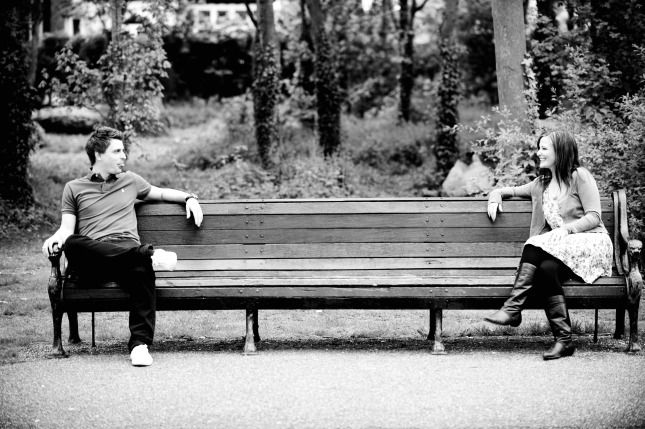 Pre wedding on bench - Google Search
