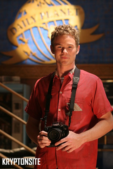 Jimmy Olsen played by Aaron Ashmore on Smallville