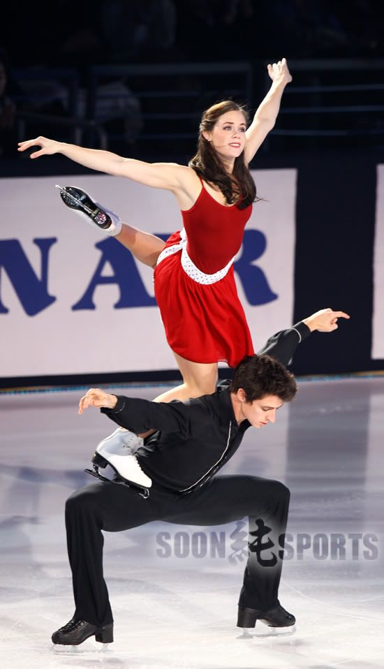 """I Want to Hold Your Hand"" Tessa and Scott"