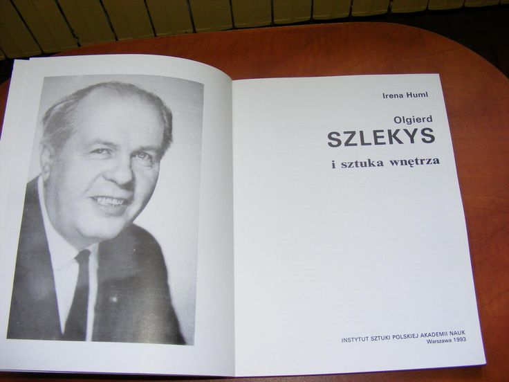 IRENA HUML - OLGIERD SZLEKYS I SZTUKA WNĘTRZA (2461841737) - Archiwum Allegro