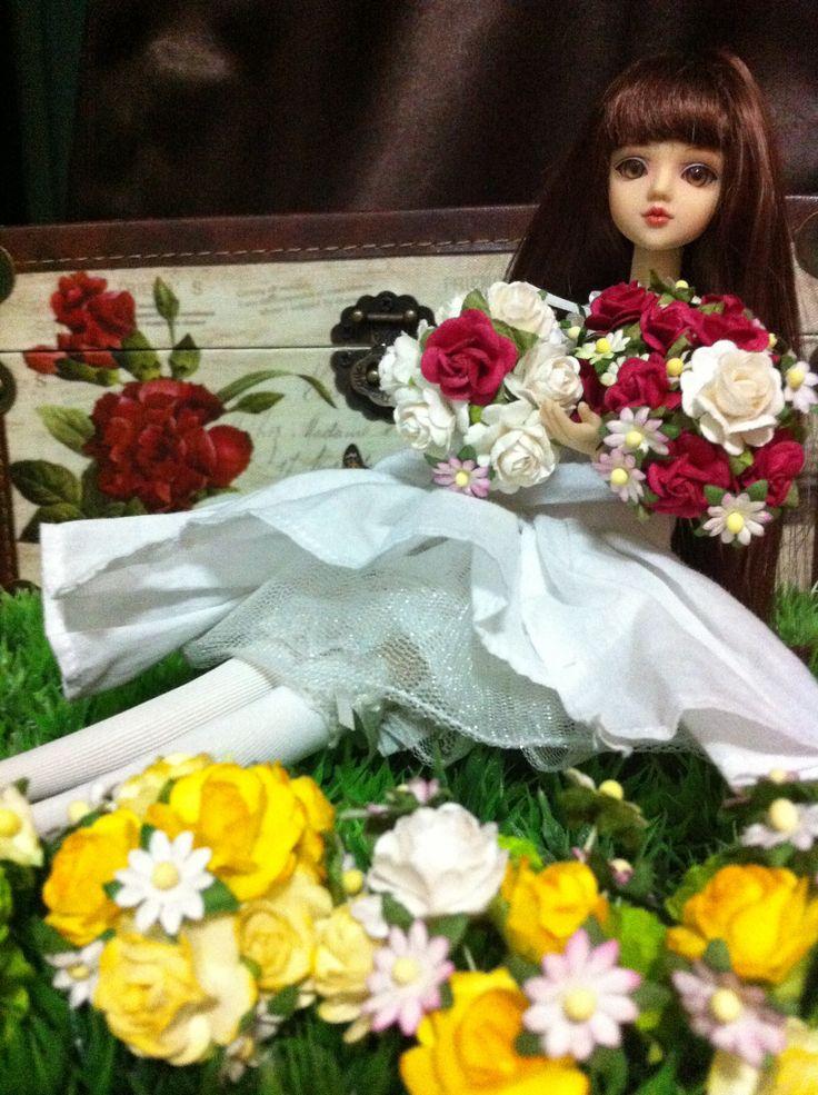 Garden for dolls