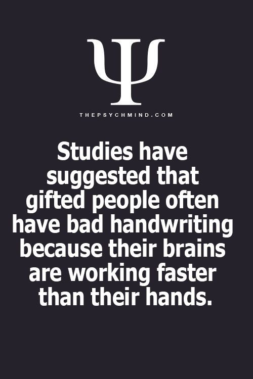 Ha! My hand are always behind my brain. If I try to write, I find writing so slow that I even lose track of what I want to say. My dyslexia likely is another contributory factor! My brain is faster than I can talk too. I thought everyone is like this?