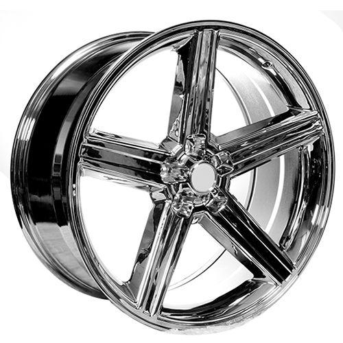 "<p>  22x8.5"" IROC Wheels Chrome 5-lugs Rims</p>"