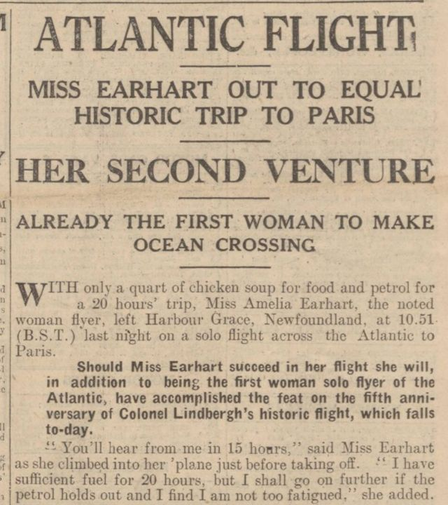 amelia earhart essay 8 Find out more about the history of amelia earhart, including videos, interesting articles, pictures, historical features and more get all the facts on historycom.