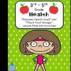 """This is a  set of 2 3rd-5th grade health lesson plans in the """"I Do, We Do, You Do"""" format - Personal Health Goals and The 5 Food Groups. See previe..."""
