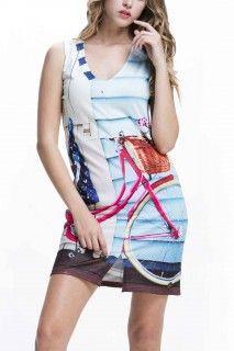 Culito from Spain barevné šaty Bici Rosa - 1350 Kč