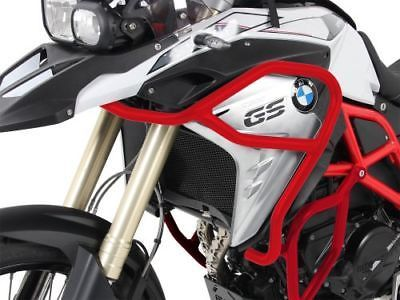 Details About Bmw F800gs Ab 2017 Tank Guard Tank Crash Bar Red F 800