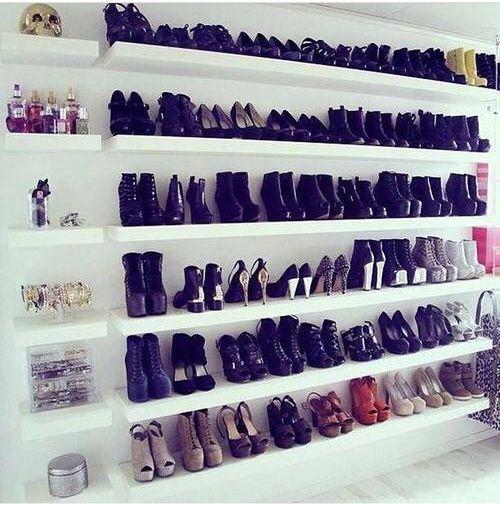 grafika shoes, heels, and closet