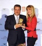 El director general de Grupo Ayserco (Toro Watch y Aviador), Adolfo Arroyo, recibe el premio Perséfone al Mejor Empresario del Año - Ediciones Sibila (Prensapiel, PuntoModa y Textil y Moda)