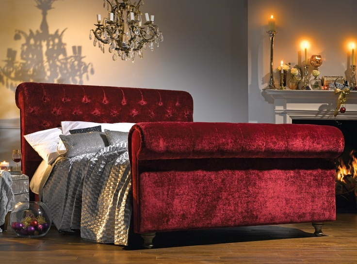 Frank hudson chesterfield velvet bed bed luxury homeware bedrooms pinterest Bedroom furniture chesterfield
