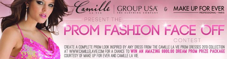 MakeupBee Competition - Enter to win the Ultimate #Prom Package Worth Over $800! Sponsored by Camille La Vie and Make Up Forever