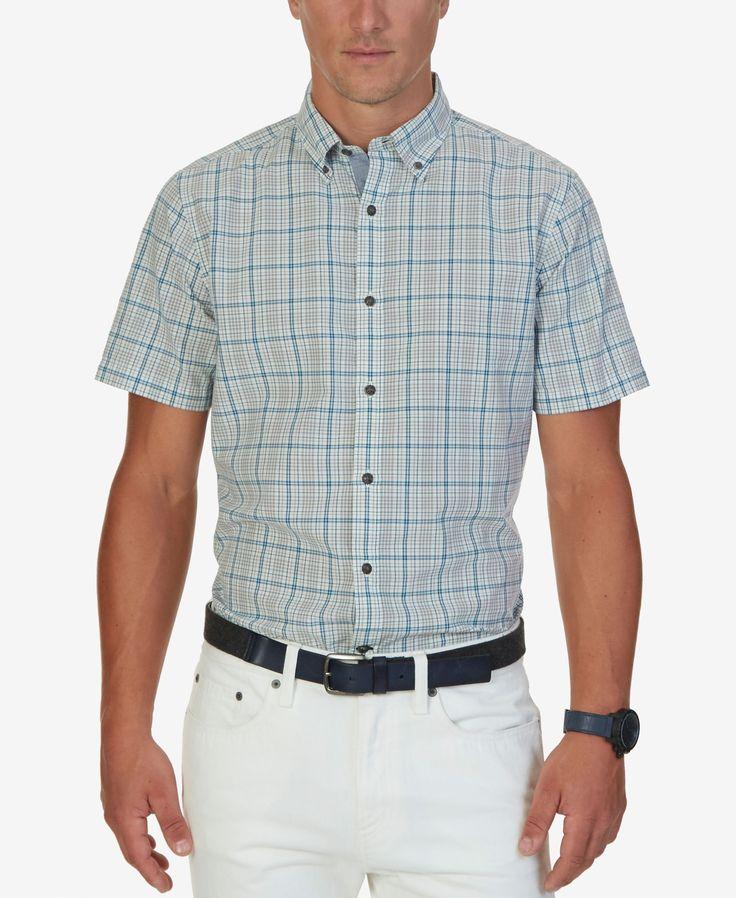 Nautica Slim-Fit Men's Beaufort Tattersall Shirt