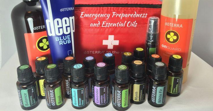 Emergency Preparedness and Essential Oils